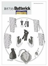 Butterick SEWING PATTERN B5733 Mug/Axe Loops,Bracers,Greaves,Gloves,Pouches