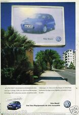 Publicité advertising 2002 VW Volkswagen Polo Match