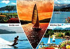 Grüße vom Wörther See, Ansichtskarte, 1979 gelaufen