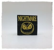 JACK SKELLINGTON Nightmare Before Christmas Sew Iron On On Patch Halloween