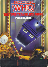 DOCTOR WHO THE TIME-TRAVELLERS' GUIDE - PETER HAINING - 1987 1st PB - G/VG COND
