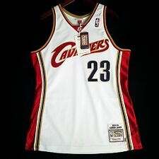100% Authentic Lebron James Mitchell & Ness Cavs Cavaliers Home Jersey 44 L