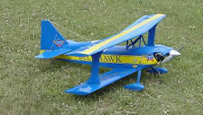 1/5 Scale Aerobatic Ultimate Biplane Plans, Templates and Instructions