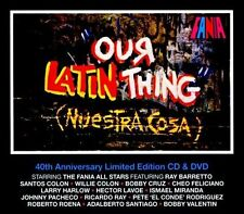 Our Latin Thing Nuestra Cosa 40th Anniversary Limited Edition 2CD and DVD Set