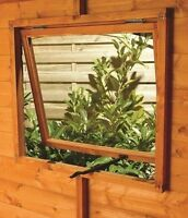 Clear Acrylic Perspex Plastic Saftey Sheet For Replacement Garden Shed Windows
