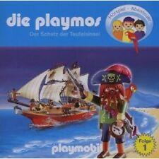 DIE PLAYMOS - (1)DER SCHATZ DER TEUFELSINSEL  CD NEU