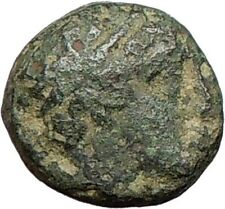 Alexander III the Great 336BC Authentic Ancient Greek Coin Horse APOLLO i27834