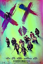 SUICIDE SQUAD Original Movie Poster DS 27X40 FREE SHIPPING Harley Quinn