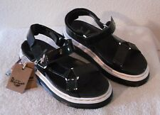 NEW Dr Martens Aggy Womens Platform Sandals 9 Black MSRP$160