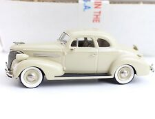 1939 Chevrolet Tusk Ivory LE Motor City USA Models 1:43 Diecast USA-40