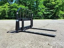 """48"""" Pallet Forks quick attach FREE SHIPPING skid steer Bobcat Kubota tractor"""