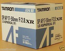 New Tamron SP A16 AF17-50mm F2.8 Di II LD Aspherical Lens For Nikon