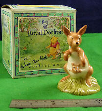 Royal doulton the winnie the pooh collection kanga et roo WP8 D003