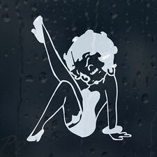 Sexy Betty Boop Funny Car Or Laptop Womans Decal Vinyl Sticker For Window Panel