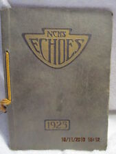 1925 Yearbook Normal Community High School IL Rare 2nd in History W/Signatures
