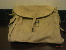 Retro army style canvas messenger bag