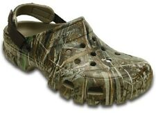 Crocs Off Road Sport Mens 7 - Women 9 Realtree Max-5 NEW NWT Tough Camo