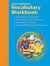SOCIAL STUDIES 2005 VOCABULARY WORKBOOK GRADE 1 by Scott Foresman