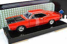 DODGE CORONET SUPER BEE 1969 RED MOTORMAX 73315 1:24 DIECAST OPENING PARTS