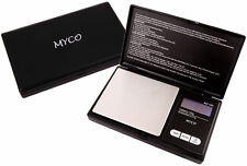 DIGITAL POCKET SCALES JEWELLERY SCALE MYCO MZ - 100  100G X 0.1G BLACK