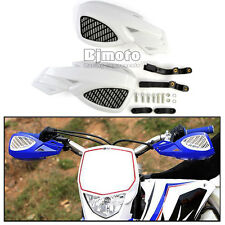 White Dirt Bike Scooter ATV MX Motocross Motorcycle Hand Guards Handguards Kids