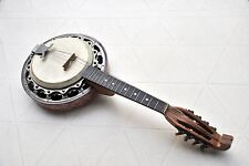 Banjoline Mandoline-Banjo 8 cordes Vincent JACOBACCI à restaurer