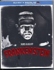 NEW BORIS KARLOFF FRANKENSTEIN  BLU-RAY + DIGITAL HD ULTRAVIOLET