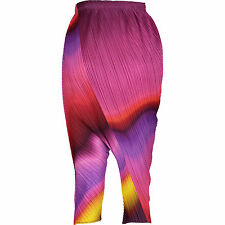 New Pleats Please Issey Miyake Drop Crotch Trousers