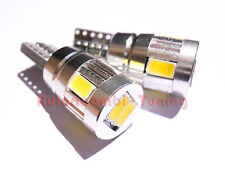 COPPIA LAMPADINE T10 24V 6 LED SAMSUNG 5630 SMD CANBUS CAMION IVECO MAN SCANIA