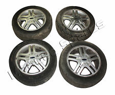 "FORD FIESTA MK6 15"" 4 STUD 5 TWIN SPOKE ALLOY WHEEL SET x 4 2002 - 2008"