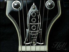 "Custom ""Rock-it!"" Diecast Truss Rod Cover. Fits most Gibson Les Paul, SG More."