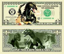 BEAST FROM 20,000 Fathoms Novelty Dollar with Protector & free ship