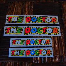 ** NEW ** VALENTINO ROSSI 4 AUFKLEBER STICKER DECAL THE DOCTOR MOTO GP