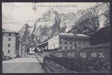 BELLUNO SAN VITO DI CADORE 15 MONTE MARCORA Cartolina viaggiata 1910