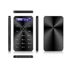 Ultrathin Mini Poche Carte Mobile Téléphone GSM Bluetooth Smartphone Débloqué FM