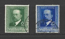 NAZI GERMANY # B-186-7 Used  DR. Von Behring, Bacteriologist