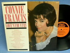 LP CONNIE FRANCIS - LOVE 'N' COUNTRY // UK ENGLAND