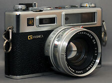 YASHICA GSN ELECTRO 35 Vintage Film Camera YASHINON f/1.7 45mm Lens Japan CLEAN