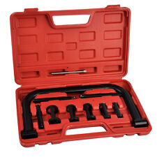 Universal 11pc Car Motorcycle Valve Spring Clamps Compressor Tool Kit Motorbike