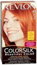 Revlon ColorSilk Hair Color 45 Bright Auburn 1 Each