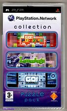 PSP Playstation Network Collection Puzzle Pack (2008), New Sony Factory Sealed