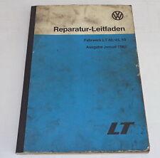 Werkstatthandbuch VW LT 40 / 45 / 50 Fahrwerk Bremsen....ab 1978 Stand 1983