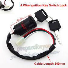 On Off Ignition Key Switch For ATV Go Kart Pit Dirt Motor Bike Moped Scooter
