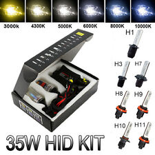 35W HID Xenon Conversion Kit Slim Digital Balastros H1 H3 H7 H11 H9 8000K 6000K