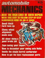 1971 Automobile Mechanics Magazine Winter Issue: Small Block Ford Tune-up/Brakes
