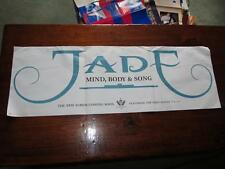 JADE MIND BODY & SONG 36 X 12 PROMOTIONAL POSTER 1994 GIANT RECORDS
