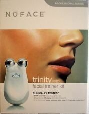 WHITE NUFACE TRINITY PRO Facial Toning Device Kit (Professional Series 400 mAmp)