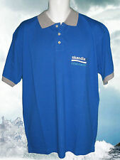 New HENRI LLOYD POLO SHIRT Cowes / Skandia 2004 Pique Blue L