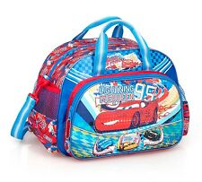 Disney Cars Sports Bag Blue Duffle McQueen Holdall Bag Boys Travel Weekend Swim