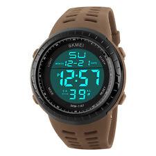 Skmei Sports Men Men's Waterproof Wristwatch 50M Dive Swim LED Digital Watch